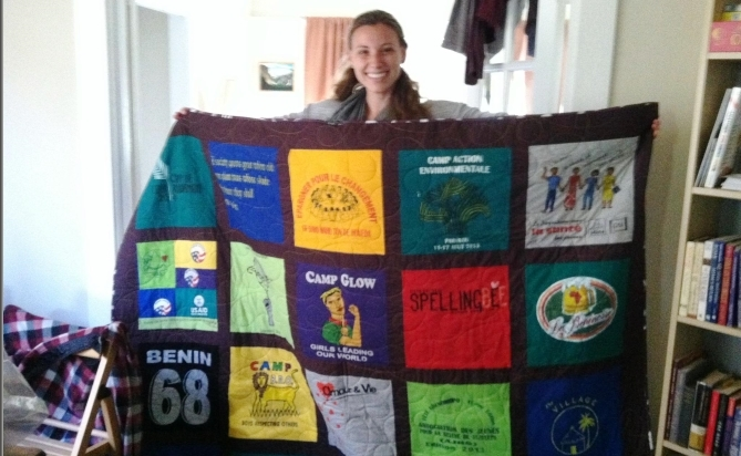 Just T-Shirt Quilts by Kyle the Girl